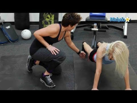 Great Exercises for Your Abs - Mountain Climbers