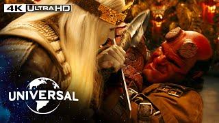Hellboy II: The Golden Army | Hellboy vs. Prince Nuada in 4K HDR
