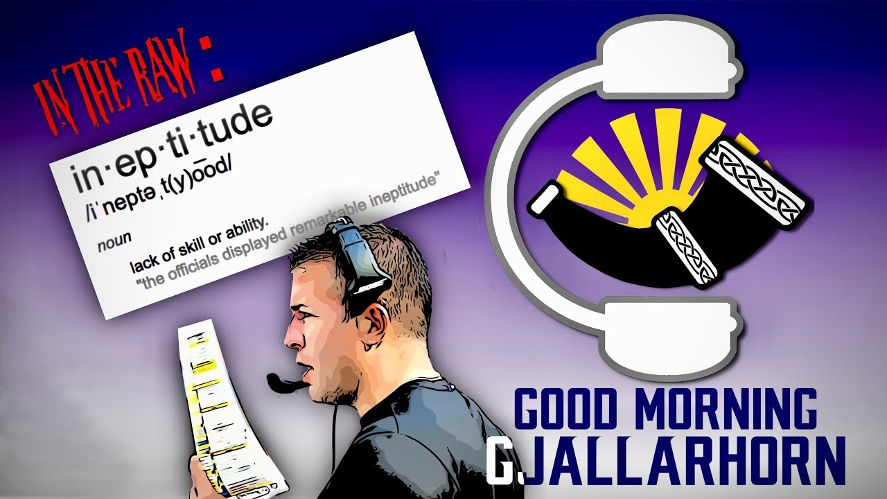 Good Morning Gjallarhorn ep 039 - MINvsSEA - In The Raw: Offensive Ineptitude