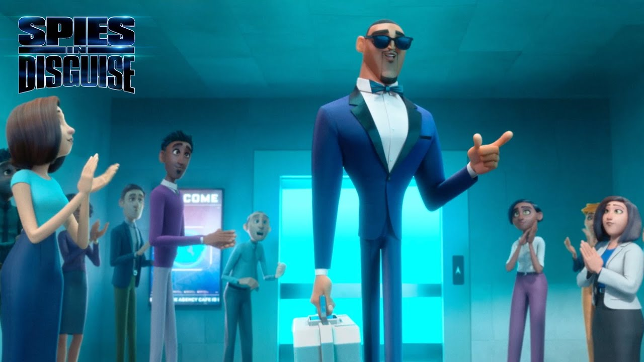 Spies In Disguise Entrance Clip 20th Century Fox Youtube