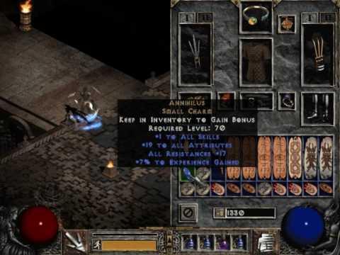 My hybrid assassins items on diablo 2 lod - YouTube