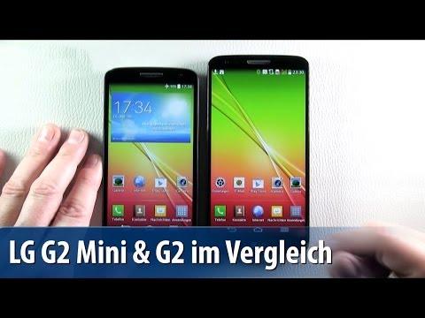 LG G2 Mini vs. G2 - Vergleichs-Test - Lutz Herkners Video-Blog | deutsch / german