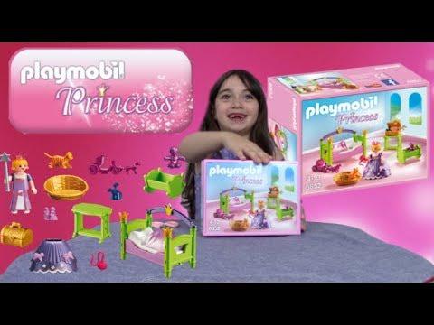 Jouets) Playmobil - chambre de princesse - set 6852 - YouTube