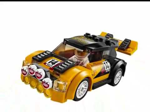 lego city la voiture de rallye youtube. Black Bedroom Furniture Sets. Home Design Ideas