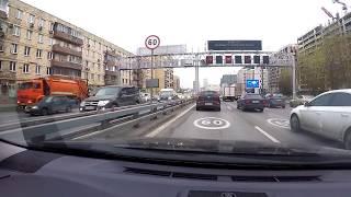 🚘С Ветерком по Москве. Поездка по района...