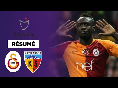 Résumé : Galatasaray tenu en échec par Kayserispor, relégable !