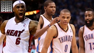 Three best lebron's vs. okc original big three [nba 2k what if]