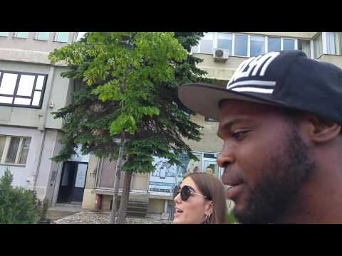 Prishtina Kosovo walking street tour part 1