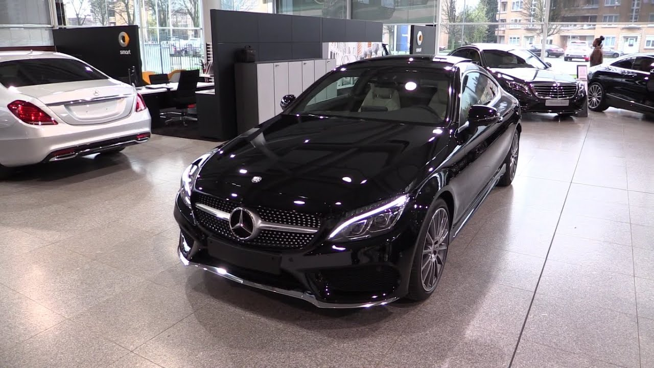 mercedes benz c class coupe 2017 in depth review interior. Black Bedroom Furniture Sets. Home Design Ideas
