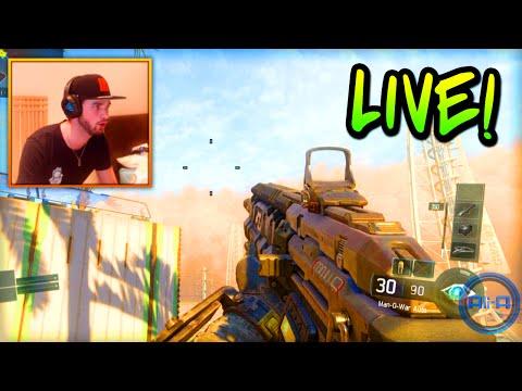 Black Ops 3 GAMEPLAY Beta - LIVE w/ Ali-A & Sidemen! (Call of Duty BO3)