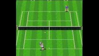 Final Match Tennis on Pc Engine, Edberg