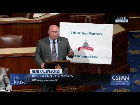 Rep. Glenn Thompson Dispels Misinformation on SNAP on House Floor