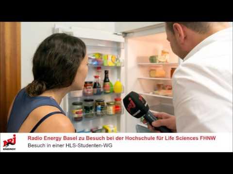 Radio Energy Basel zu Besuch in einer Studenten-WG