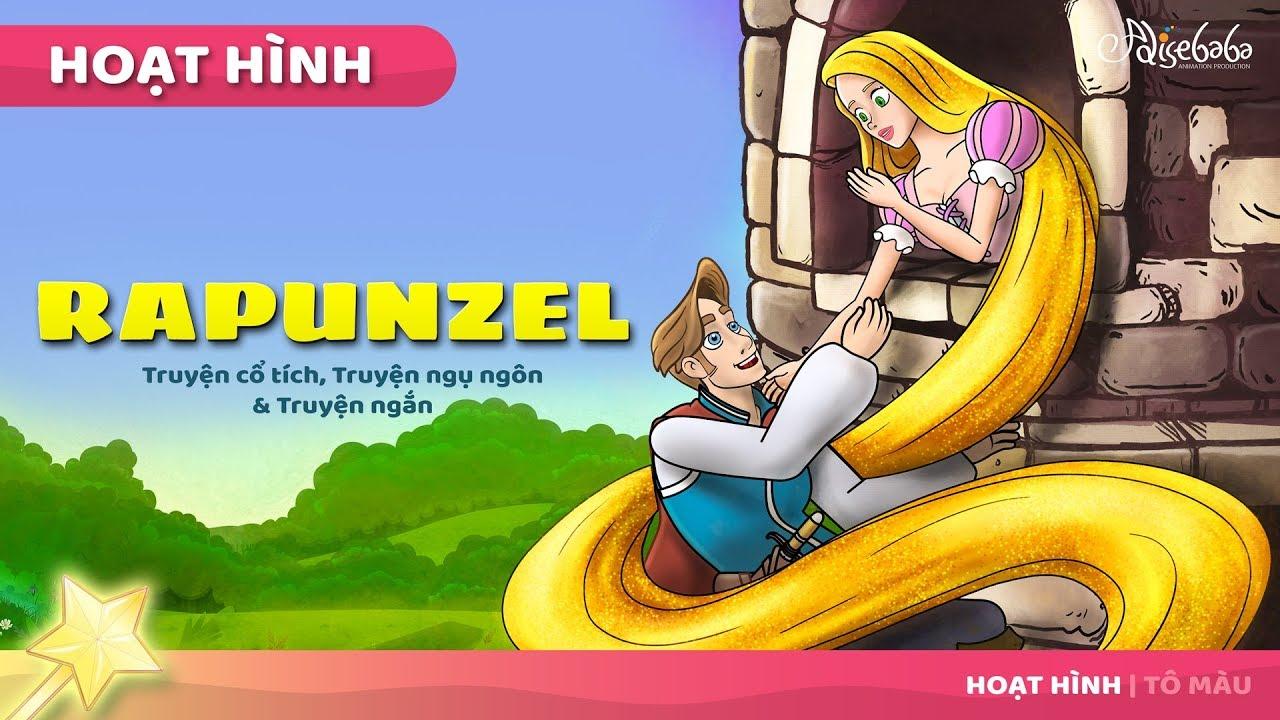 Rapunzel (Mới) câu chuyện cổ tích – Truyện cổ tích việt nam – Hoạt hình cho Trẻ Em