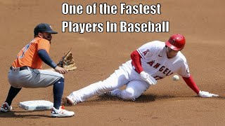 Shohei Ohtani Being Unbelievably Fast
