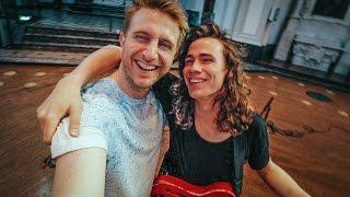 Ik ga deze robot besturen | vlog #55 | Videoclip Lucas Hamming in een kerk