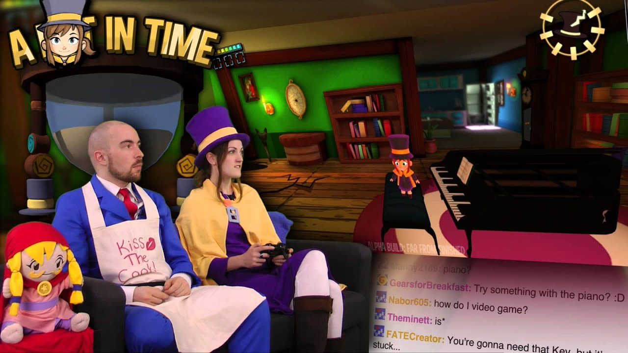 A Hat in Time AWESOME! - Alpha Build Update!
