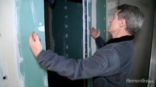 Как проложить кабель в стене из гипсокартона?(, 2014-02-26T23:38:27.000Z)