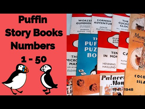 Vintage Puffin Story Books - The First 50 Classic Titles From 1941 To 1948!