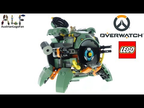 LEGO Overwatch 75976 Wrecking Ball - Lego Speed Build Review