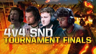 4v4 SnD Tournament Finals With OpTic Gaming!