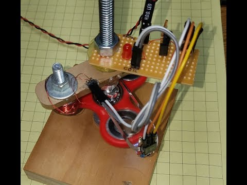 Make a Brushless Motor from a Fidget Spinner