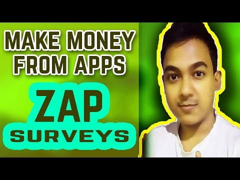 Make Money From Apps ||ZapSurveys - Android App||