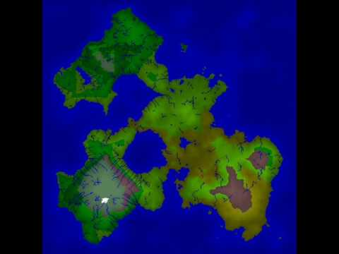 Random World Generation With Fractal Terrain Youtube