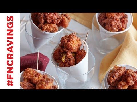 Honey Fried Chicken Bites | Food Network