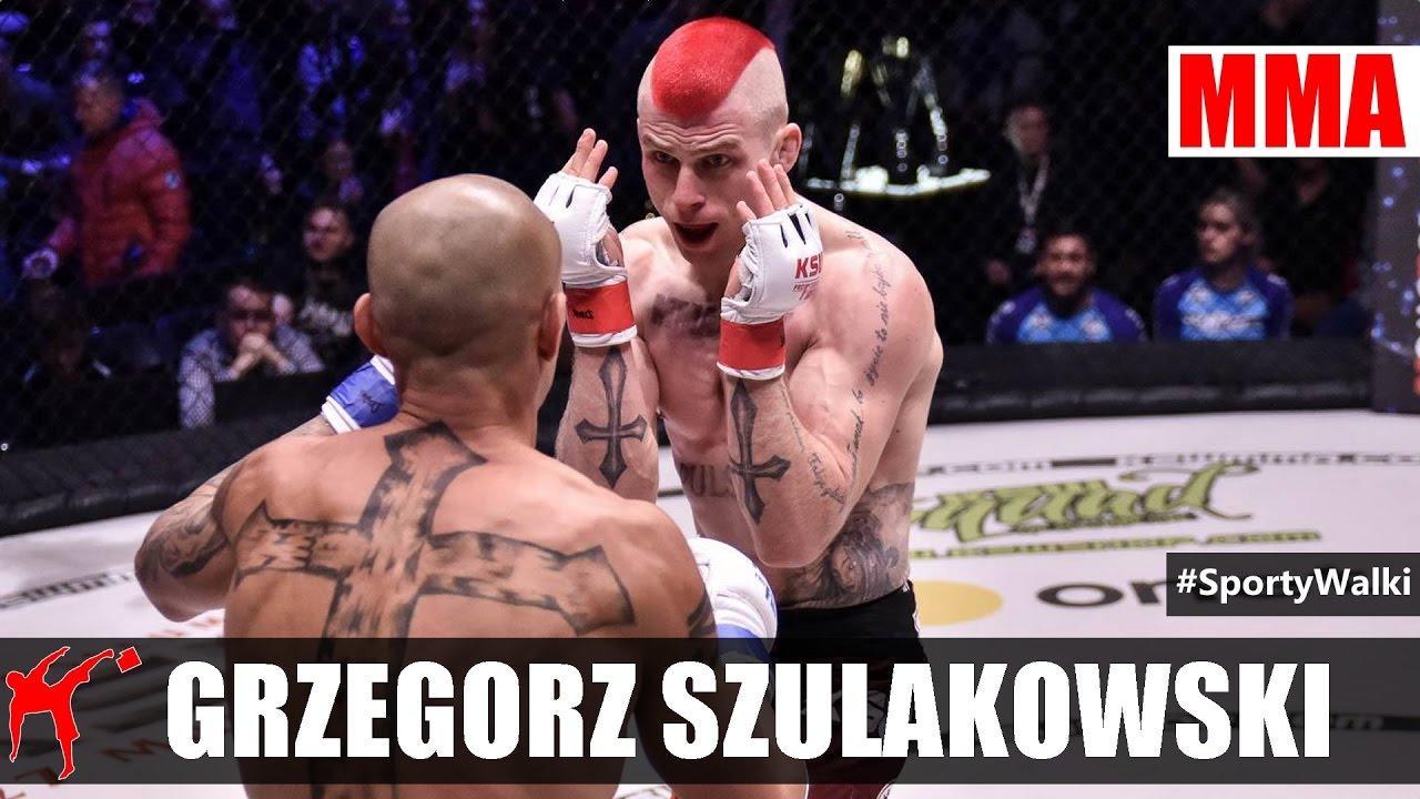 Ksw 38 Grzegorz Szulakowski Rozbił łokciami Gomesa Youtube