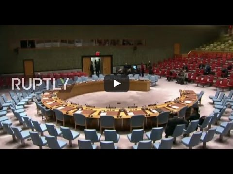 LIVE: UN Security Council to vote on Syrian ceasefire resolution
