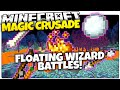 Minecraft 1.9 | FLOATING MAGIC WIZARD BATTLES! | Magic Crusade (Minecraft 1.9 Custom Minigame)