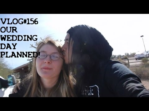 VLOG#156 OUR WEDDING DAY PLANNED FOR 2016!