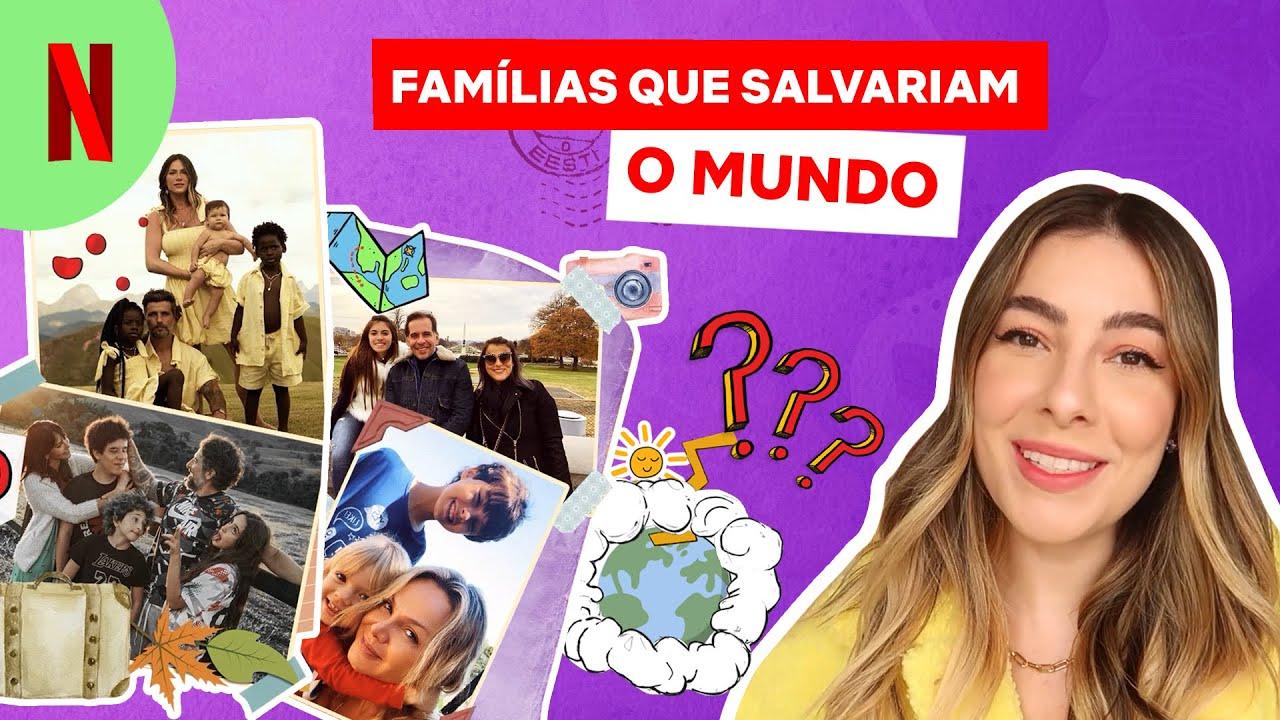 Será que essas famílias salvariam o mundo? | Netflix Brasil