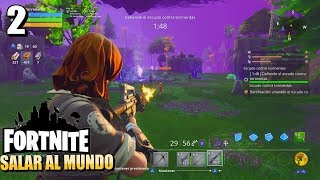 C'est plus dur que je ne le pensais. Fortnite Save the World Gameplay #2
