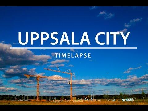 Uppsala city | Timelapse 1080p HD