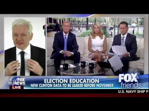 Assange: WikiLeaks Will Be Releasing A Lot More Interesting Intel On Hillary Clinton