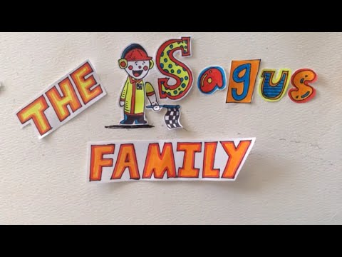 🚗The Sagus Family 🚙Stop Motion Animation Channel Intro 🚕