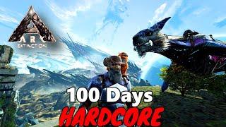 I Survived 100 Days Of Hardcore ARK Extinction - Survival Evolved (Part 1/2)