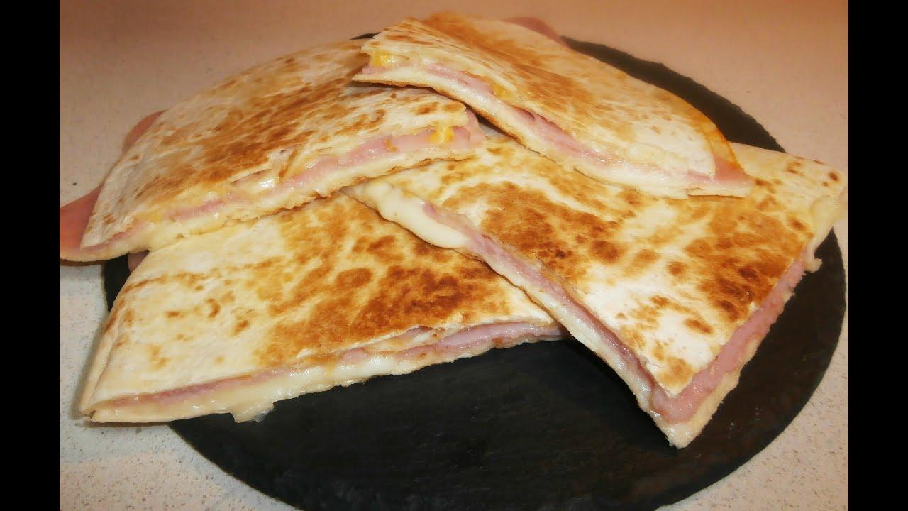 quesadillas de jam n y queso 33 ham and cheese