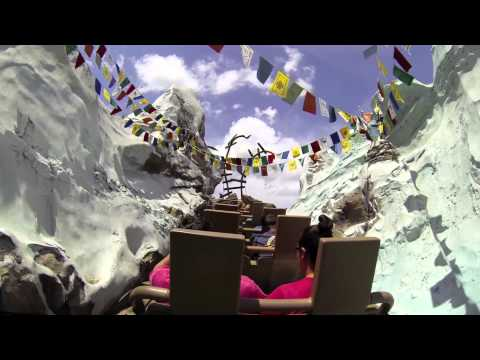 Expedition Everest Full Ride POV- Disney's Animal Kingdom, Walt Disney World, Florida