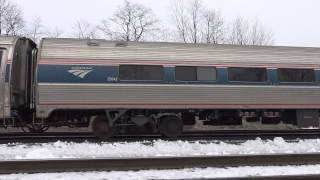 Sony FDR-AX33 Pennsylvanian Train 4K Footage, Handheld