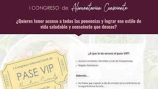 I Congreso Online De Alimentacion Consciente ¡No Compres Las …