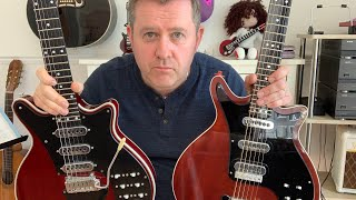 BMG Special v CQ Brian May Red Special - Cheap Guitar Compared To Expensive