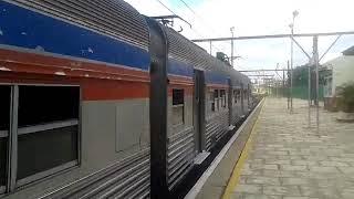 CPTM - Budd 1404 chegando em Jundiaí