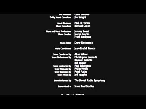 Perfect holiday  ending credits peace on earth