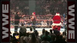 Xanta Claus attacks Savio Vega: In Your House, Dec, 17, 1995