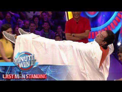 Minute To Win It: Long, may magic trick kung paano lumutang sa ere