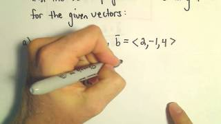Orthogonal Projections - Scalar and Vector Projections. In this vid...