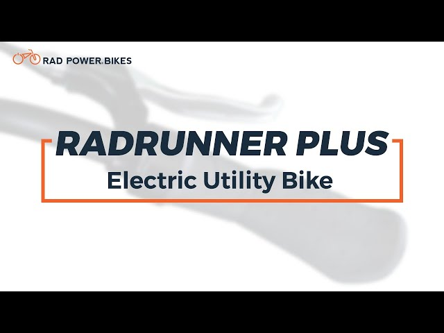 RadRunner Plus Electric Utility Bike | Technical Overview